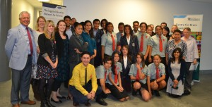 Maori and Pacific students presented their results to whanau and university colleagues at the LENScience BrainWaves Seminar